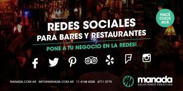 Redes sociales para Bares y Restaurantes | Algo que no puede faltar